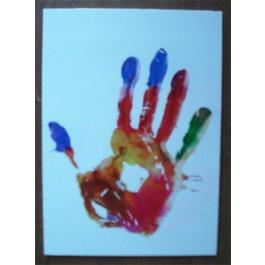 Полноцветная печать на самоклеющейся пленке