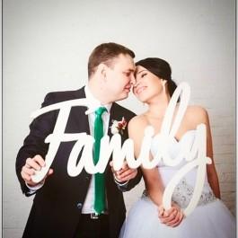 Свадебный декор FAMILY