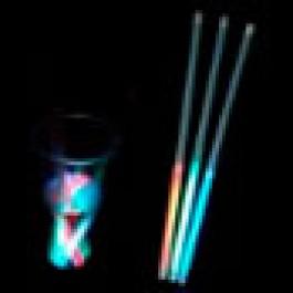 Светящийся пластиковые соломинки