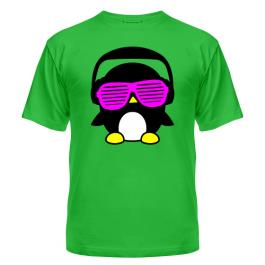 Мужская футболка Пингвинчик в очках