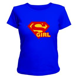 Женская футболка Supergirl (2)