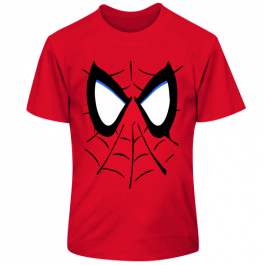 Детская футболка Лицо человека-паука