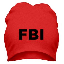 Шапка FBI