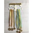 Рамка для медалей Черлидер