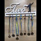 Рамка для медалей футболист