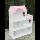 Домик розовый